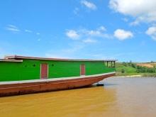 boat on mekong