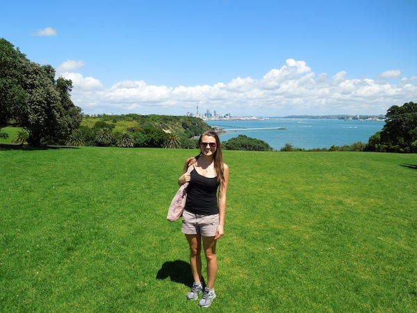 Second day in New Zealand. This girl had no idea what she was in for.
