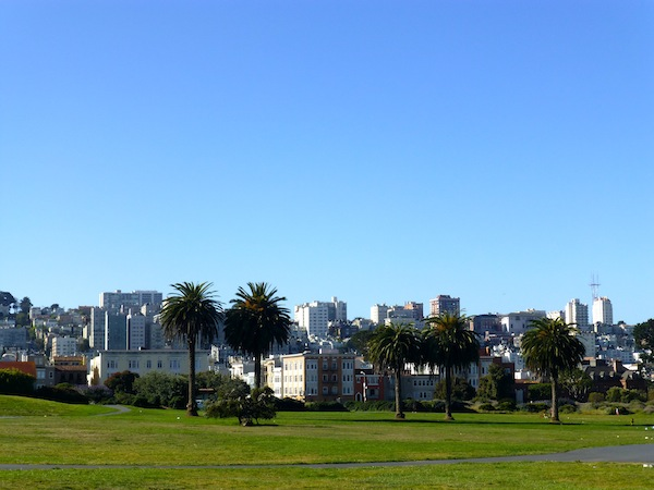 I took this picture on the grounds of Fort Mason, where one of my SF hostels was. This was probably a two-minute walk from the front door.