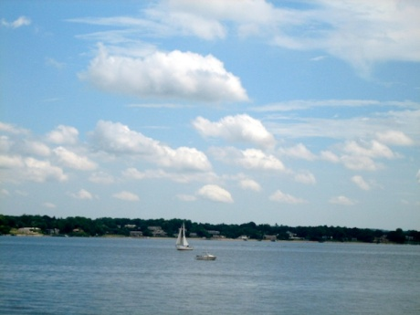 view from city island