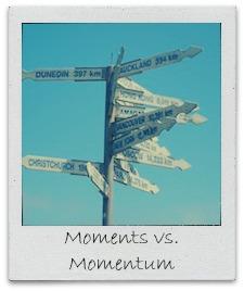 moments vs momentum